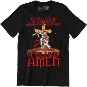 The Devil Saw Me With My Head Down Men's T-shirt
